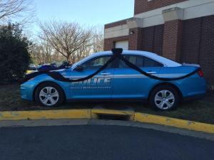 Officer Guindon's patrol car