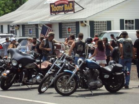 A Toots Bar biker day resulted in another assault arrest for Robert Scott Grieninger.
