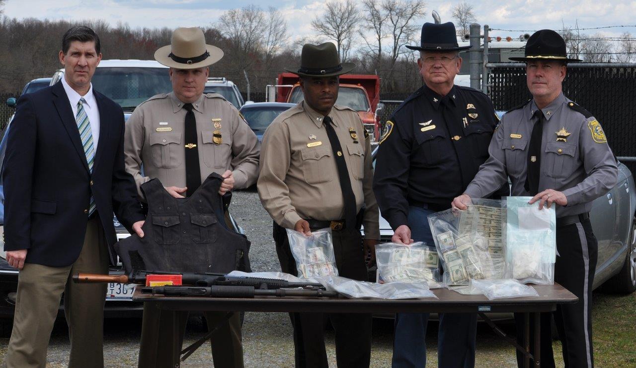 2016-03-17-SA-Lance-Richardson-Lt.-Tim-McDonald-MSP-Captain-Kersey-DNR-Chief-Charles-Rhodes-CPD-Sheriff-Gary-Hofmann-QACSO