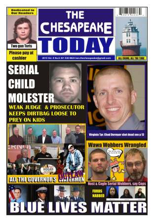 FREE for Amazon Unlimited customers. Available WORLDWIDE on Amazon. THE CHESAPEAKE TODAY on newsstands now in Delaware, Maryland and Virginia.