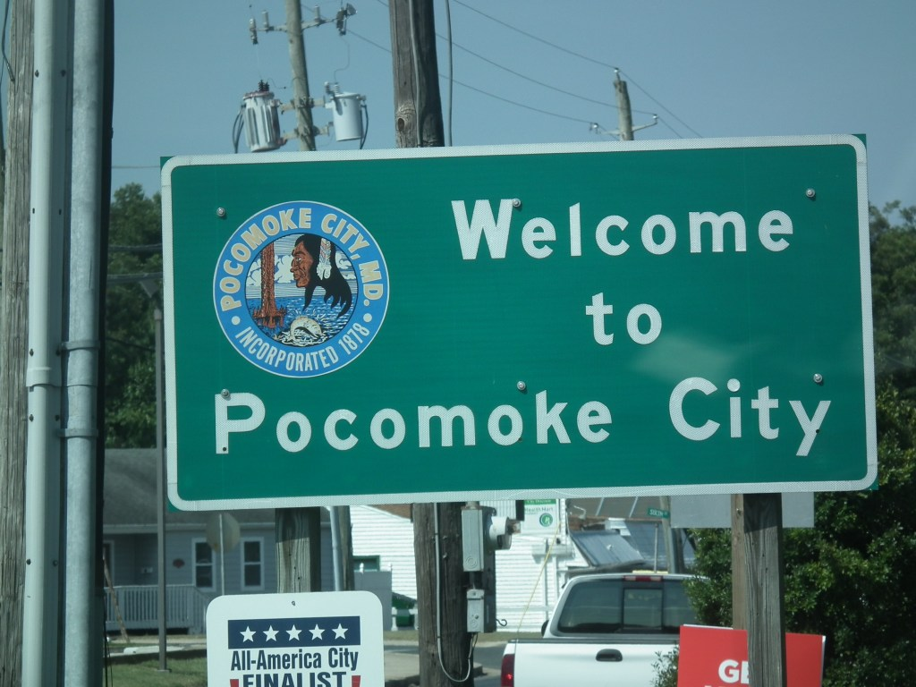 Pocomoke City is one of many thriving towns on Maryland's Eastern Shore. The U.S. 113 widening will begin at Pocomoke City and  transform the highway into a four-lane road to Delaware.  THE CHESAPEAKE TODAY photo