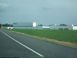 The Sysco plant on the Eastern Shore is just one of the traffic generators which will find benefit by Maryland finally dualizing U. S. 113.  THE CHESAPEAKE TODAY photo