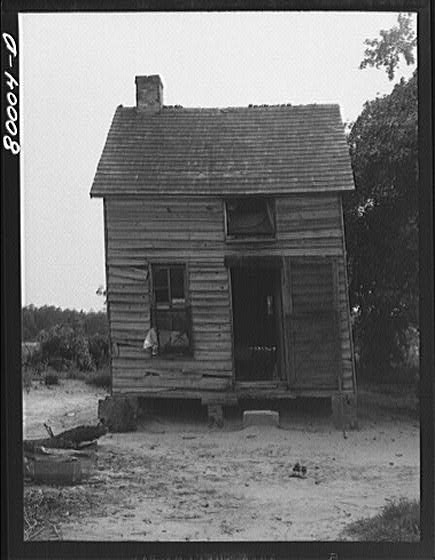 Yamaicus house in Ridge, Md., in the 30s.