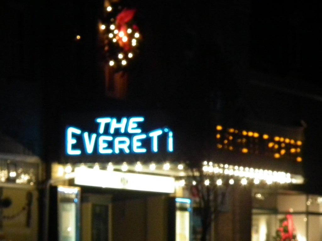 The Everett Theater in Middletown, Delaware, is one of more than a half dozen movie theatres restored and providing entertainment. THE CHESAPEAKE TODAY photo