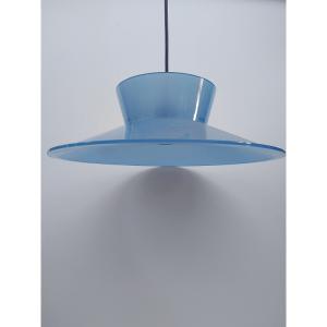 Lampadario Vintage 35 azzurro