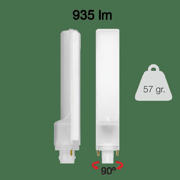 Lampada LED PL 9W G24 BENEITO FAURE