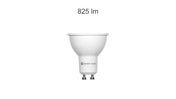 Lampadina LED DICROICA SYSSTEM GU10 8W 60° BENEITO