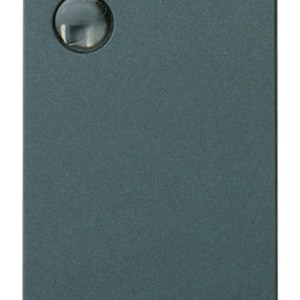 Interruttore 1P 16AX lum.so grigio
