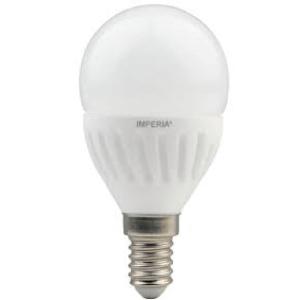 Lampadina LED a sfera 9W E14 45x91