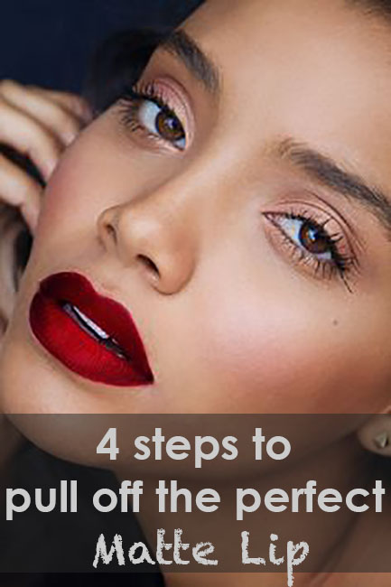 How to wear matte lipstick