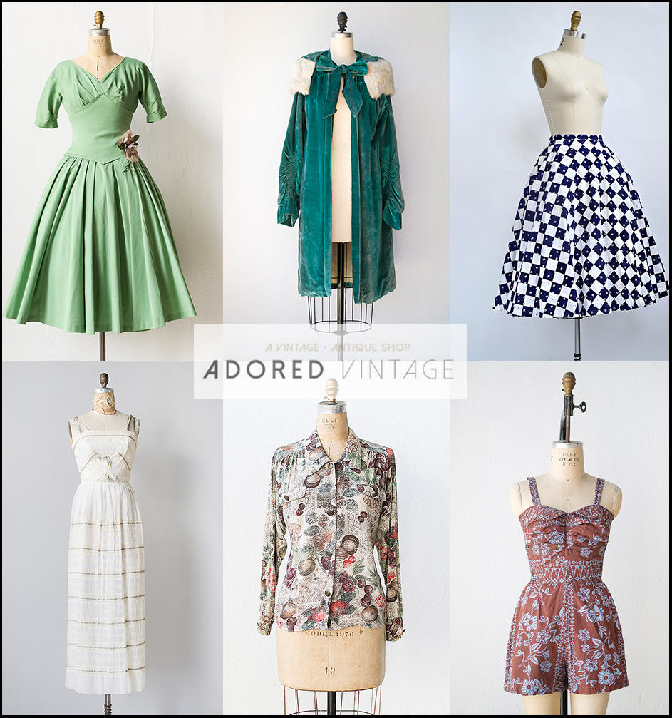 32 of the best places to shop for vintage clothes online for Great places to shop online