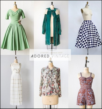 5 best online vintage stores-Adored Vintage, vintage wear, vintage clothing, online vintage boutique, online vintage store, vintage store, vintage boutique, vintage fashion, Fancy Treehouse, Mint Mall, Adored Vintage, Noir Ohio, Thrifty Bxtch, Etsy vintage shops, Buying vintage, The Best Fashion bloggers, The Best fashion blogs, Black Fashion Bloggers, Vintage Clothes, Vintage clothing