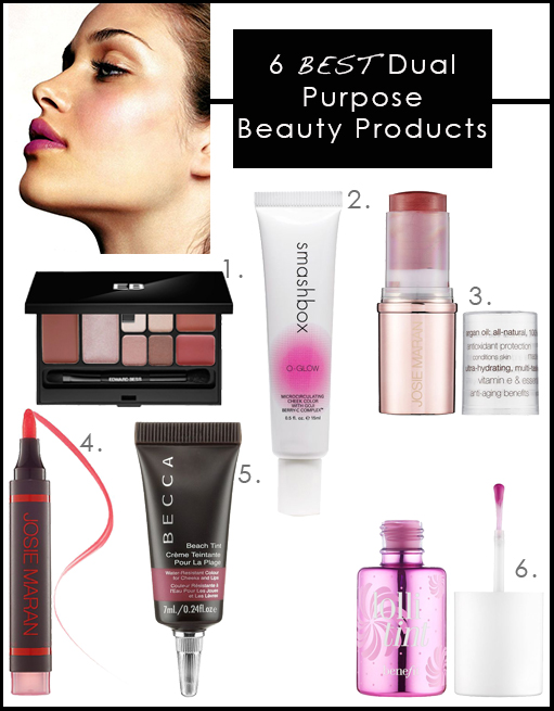 6 Best Dual Purpose Beauty Products