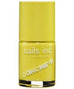 Nails Inc. Nail Polish, Nails Inc. Concrete Nail Polish, Neon Nail Polish, Yellow Nail Polish, Neon Yellow Nail Polish, Nail Design, Nail Art, Beauty Trends, Summer Trends, Beauty tips, Makeup Tips, Nail Polish, Nail trends, Nail polish trends, Sephora Nail Polish, Gel Nail polish, Matte Nail polish, Metallic Nail Polish, Metal Nail Polish,