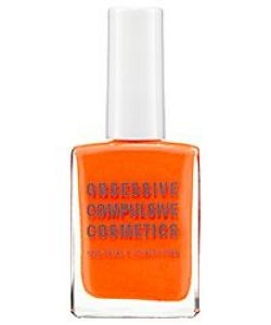 Obsessive Compulsive Nail Polish, Obsessive Compulsive Cosmetics, Neon Orange Nail Polish, Neon, Neon Orange, Neon Nail Polish, Nail Design, Nail Art, Beauty Trends, Summer Trends, Beauty tips, Makeup Tips, Nail Polish, Nail trends, Nail polish trends, Sephora Nail Polish, Gel Nail polish, Matte Nail polish, Metallic Nail Polish, Metal Nail Polish,