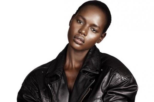 Ajak-Deng-3_Contributor 1, Balmain Racism, Lack of diversity in fashion, Diversity in the fashion industry, Racism in the fashion industry, Is the Fashion Industry Racist, Ajak Deng Racism, Ajak Deng quit modeling because of racism, Black Fashion Blog, Popular Black Fashion Blogs