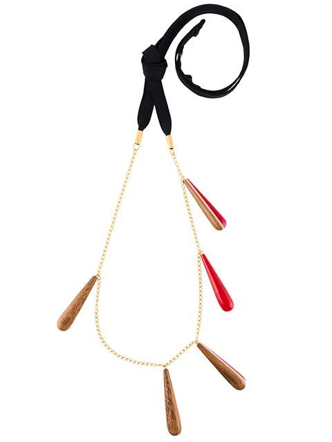 Marni Teardrop Pendant Necklace, Marni Accessories, wooden jewelry, wooden necklace, wooden accessories, Black Blogs, Shopping Blogs, Shopping Guide, Black Bloggers, Fashion Blogs, Black Women Blogs, Black Women Magazines