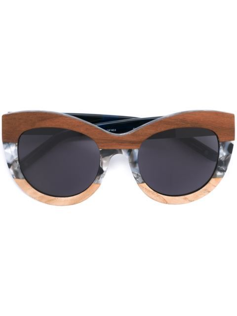 Wooden Sunglasses, Linda Farrow Gallery, Linda Farrow Gallery Marble Frame Sunglasses, wooden jewelry, wooden necklace, wooden accessories, Black Blogs, Shopping Blogs, Shopping Guide, Black Bloggers, Fashion Blogs, Black Women Blogs, Black Women Magazines