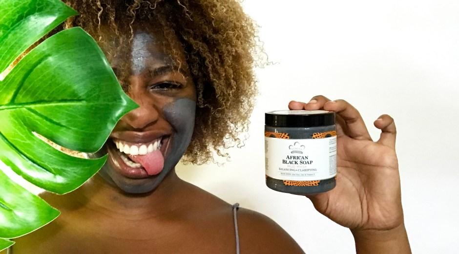 Nubian Heritage_African Black Soap Mud Mask