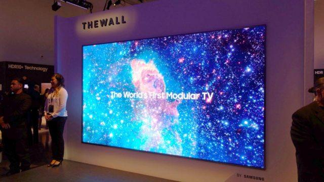 Samsung's Modular TV - The Wall