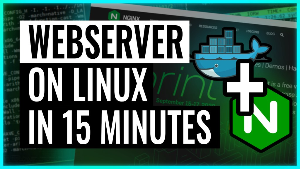 Install a webserver on Linux in 15 minutes