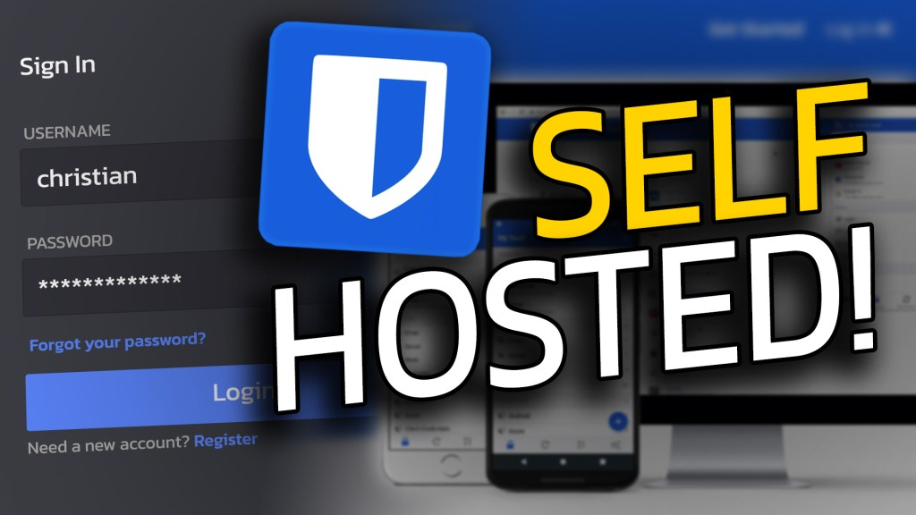 SELF HOSTED Password Manager