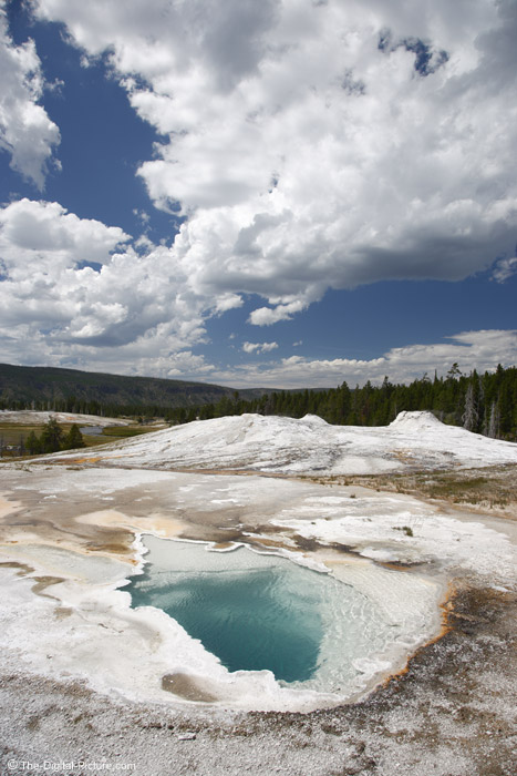 Emerald Colored Hot Spring