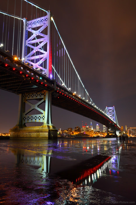 Ben Franklin Bridge Philadelphia Pa