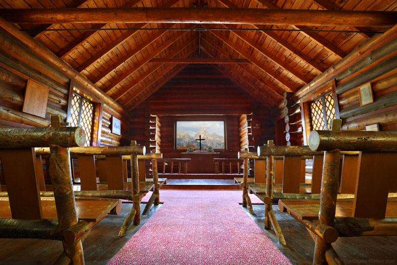The Chapel Of The Transfiguration Grand Teton National Park