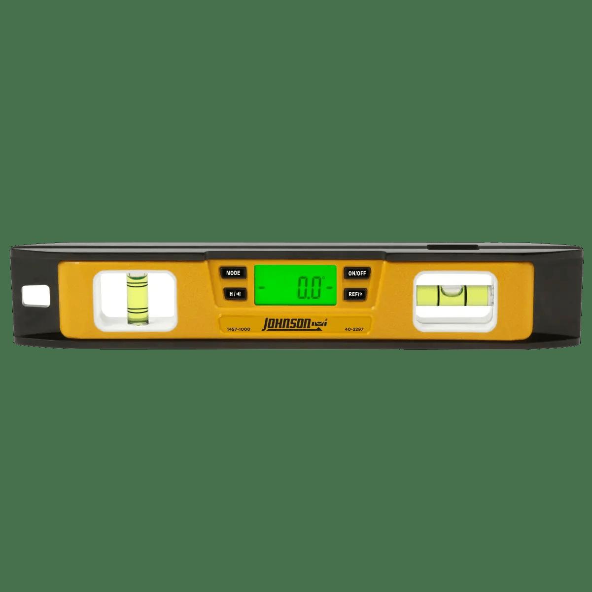 level digital johnson electronic torpedo 1000 1457 spirit leveling tools diy essential straight ers