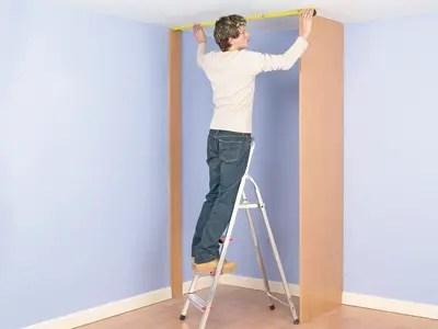 install a closet