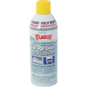 garage door spray