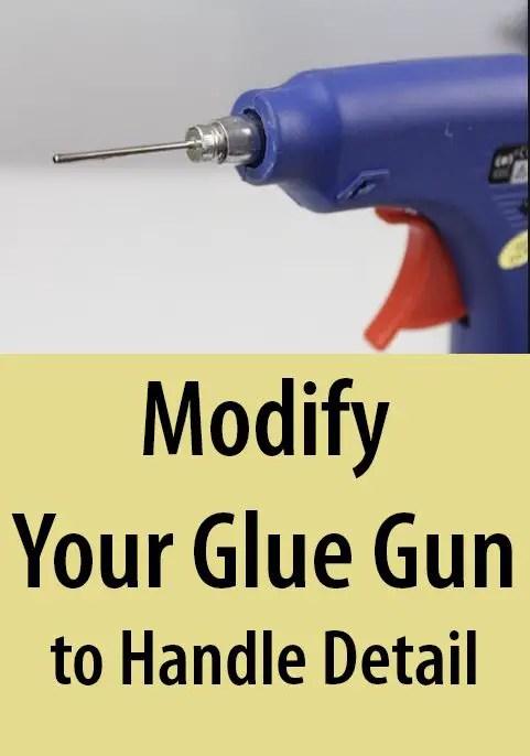 gluegun detail work