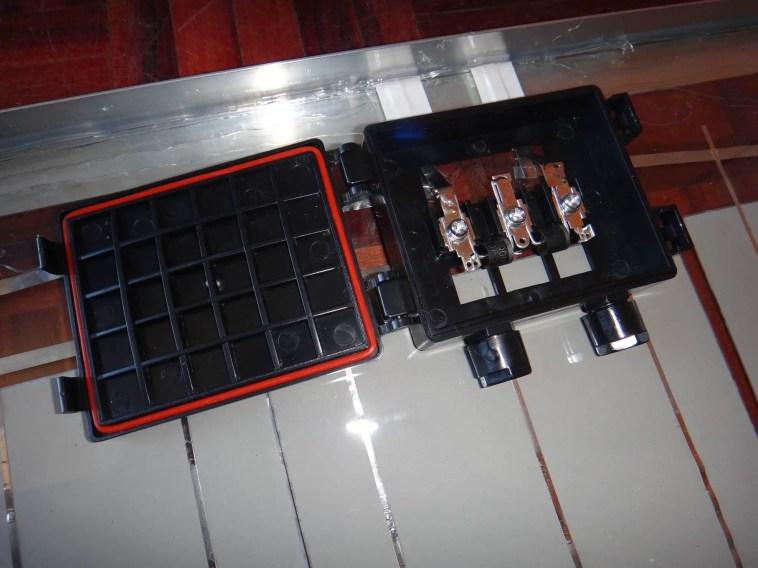 solar panel terminal box