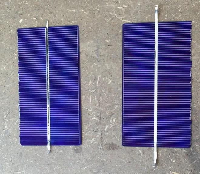 split solar cell