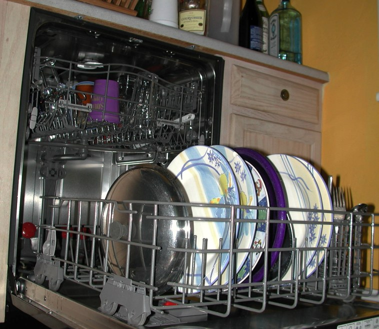 use the dishwasher for a clean home