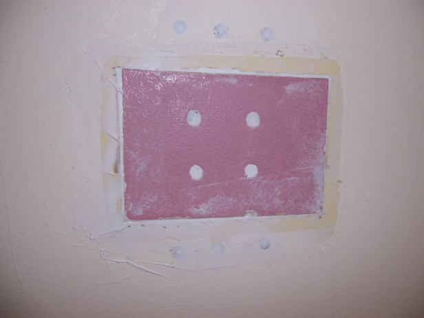 patching drywall
