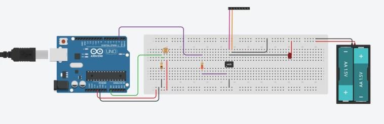 Arduino lightning camera trigger