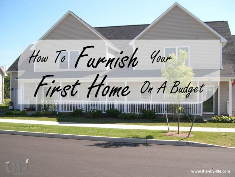 furnish your first home on a budget pinterest
