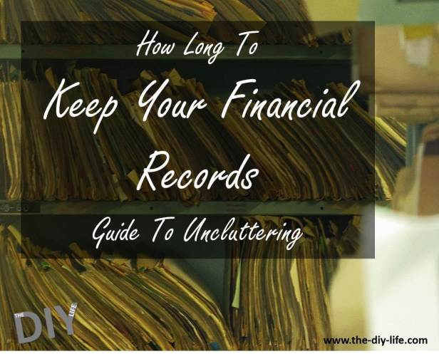 how long to keep your financial records pinterest