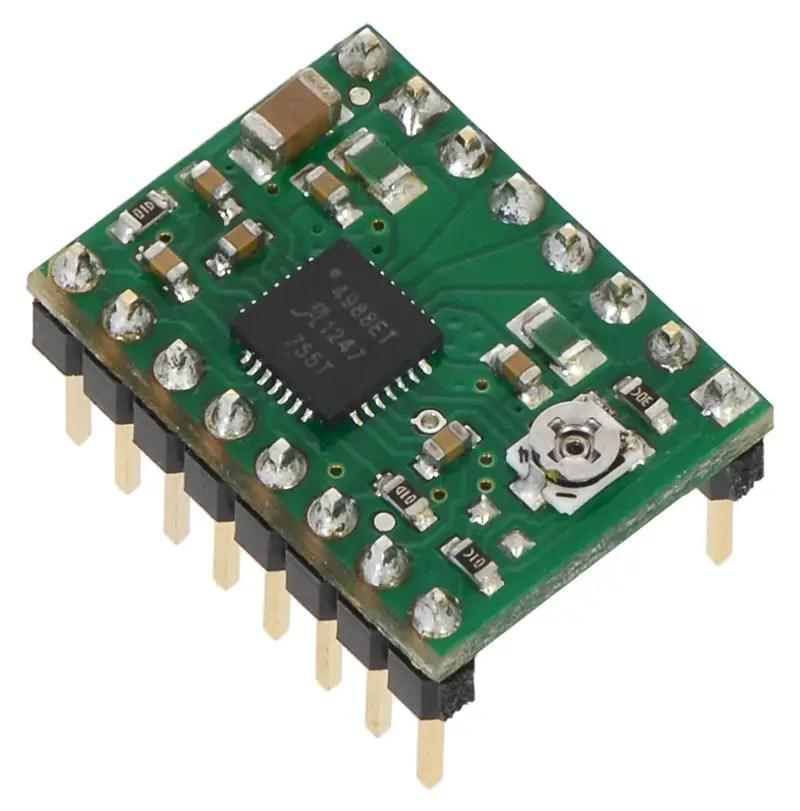 Diagram Arduino Stepper Motor Control Using Pololu Driver