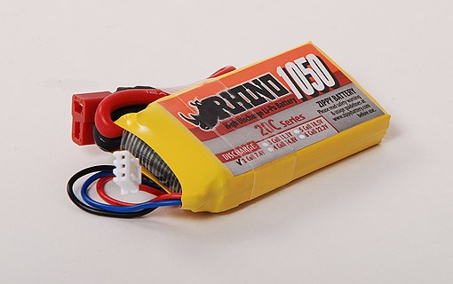 1050mah rhino lipo battery