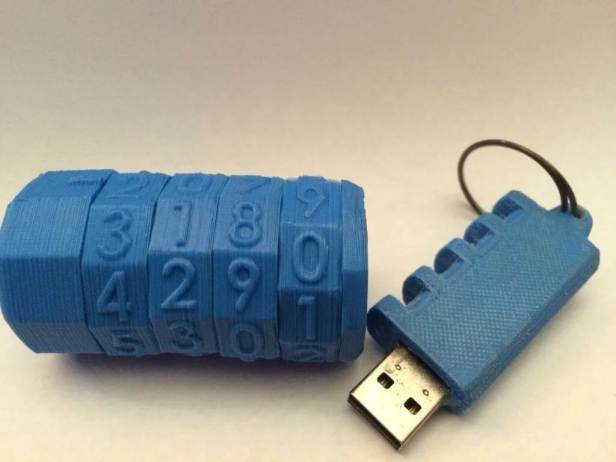 flash drive cryptex