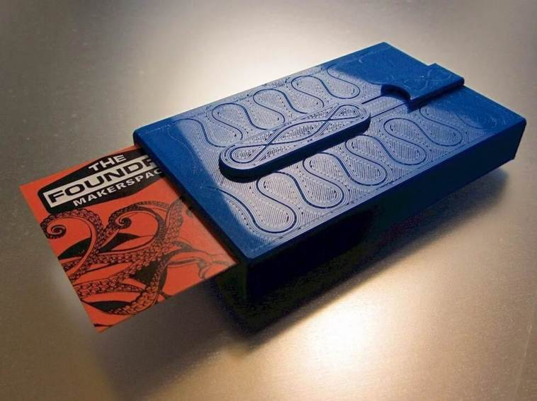 quick business card case
