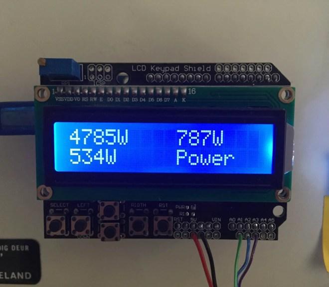 simple 3 phase arduino energy meter