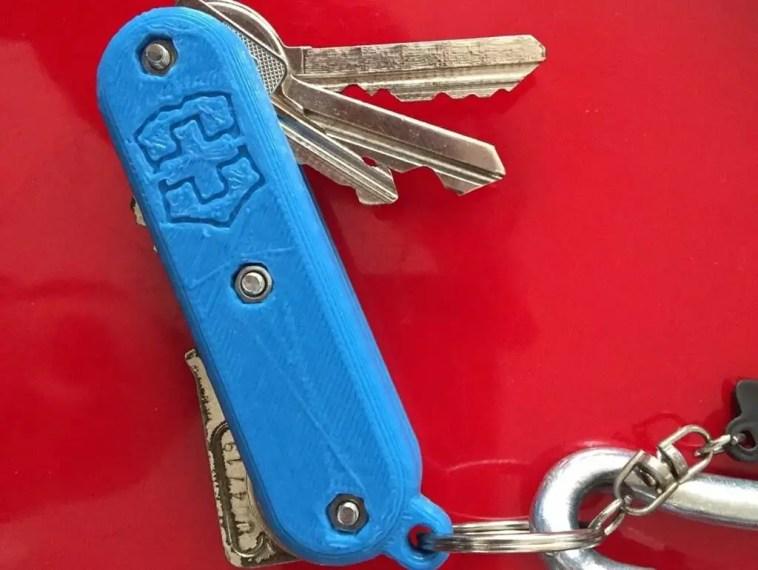 swiss army style key chain