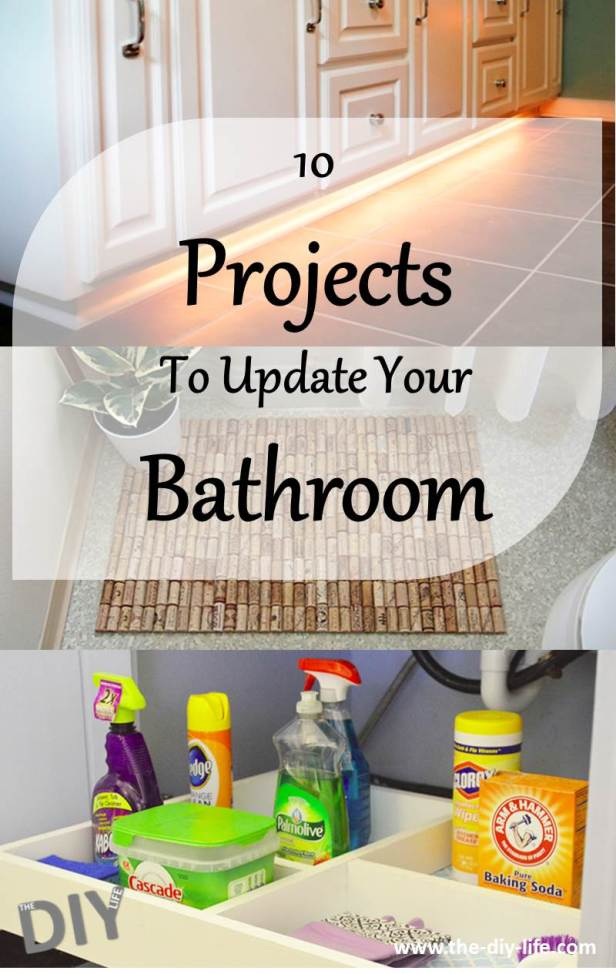 10 projects to update your bathroom