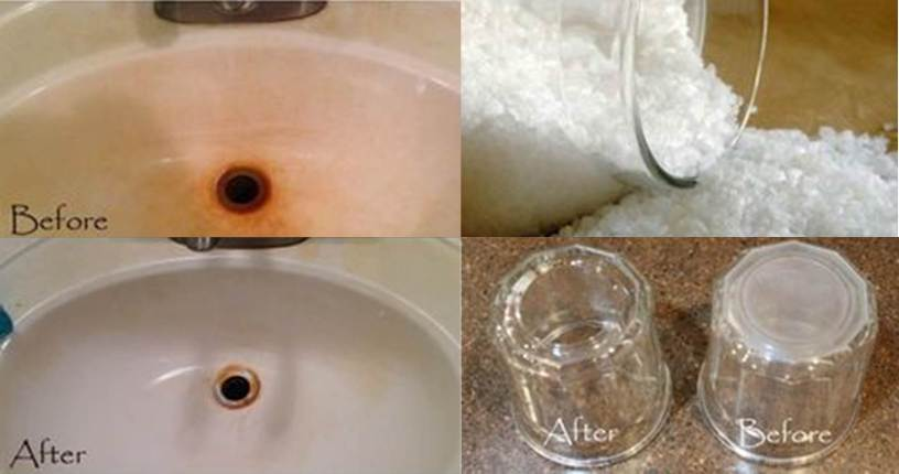 Remove Hard Water Stains with this DIY Epsom Salt Scrub | The DIY Life