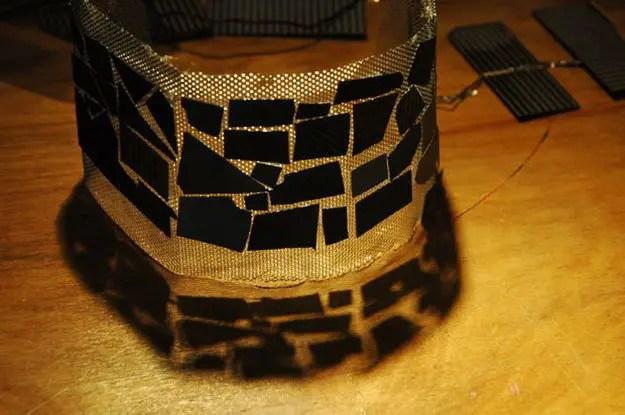 diy curved solar panel