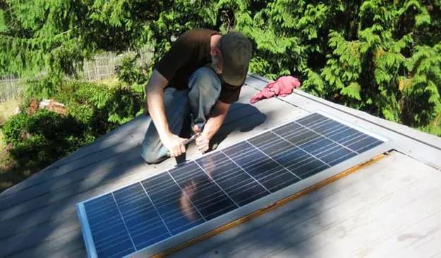 diy home solar power system